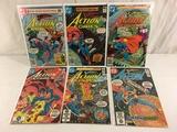 Lot of 6 Collector Vintage DC, Comics Superman's Action Comic Books No.507.509.51.528.529.530.
