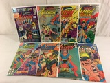 Lot of 6 Collector Vintage DC, Superman's Action Comic Books No.527.531.533.535.537.538.539.540.