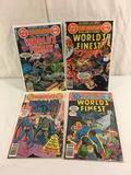 Lot of 4 Pcs Collector Vintage DC, Comics World's Finest Comic Books No.254.255.260.261.