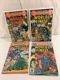 Lot of 4 Pcs Collector Vintage DC, Comics World's Finest Comic Books No.262.263.264.265.