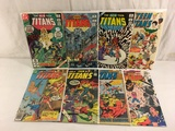 Lot of 8 Collector Vtg DC, The New Teen Titans Comic Books No.17.25.26.27.50.51.52.53.