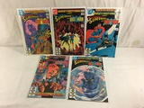 Lot of 5 Collector DC, World's Finest Comics Presents Superman & Batman No.285.286.287.288.292.
