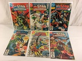 Lot of 6 Pcs Collector Vintage DC, All-Star Squadron Comic Books No.3.4.5.6.7.8.