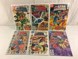 Lot of 6 Pcs Collector Vintage DC, All-Star Squadron Comic Books No.9.10.11.13.14.15.