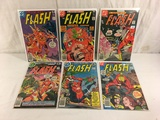 Lot of 6 Pcs Collector Vintage DC, The Flash Comic Books No.255.256.258.262.268.269.