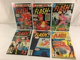 Lot of 6 Pcs Collector Vintage DC, The Flash Comic Books No.288.289.290.298.304.305.