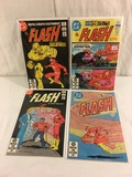 Lot of 4 Pcs Collector Vintage DC, The Flash Comic Books No.313.315.316.317.