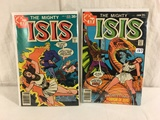 Lot of 2 Pcs Collector Vintage DC, Comics The Mighty ISIS Comic Books No.7.8.
