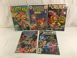 Lot of 5 Pcs Collector Vintage Assorted DC, Comics Comic Books No.1.32.20.3.11.