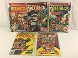 Lot of 5 Pcs Collector Vintage Marvel Comics Astonishing Tales Deathlok No.32.33.34.35.36.