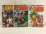 Lot of 3 Pcs Collector Vintage Marvel Comics Conan Barbarian Comic Books No.139.154.160.