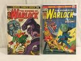 Lot of 2 Pcs Collector Vtg Comics The Power Of Warlock Comic Books No.5.7.