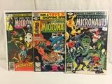 Lot of 3 Pcs Collector Vintage Comics The Micronauts Comic Books No.1.2.5.
