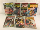 Lot of 7 Pcs Collector Vintage Master Of Kung Fu Comic Books No.71.72.73.74.76.77.108.