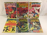 Lot of 6 Pcs Collector Vintage Peter Parker The Spectacular Spider-man No.26.27.29.30.31.92.