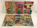 Lot of 6 Pcs Collector Vtg Marvel Super Heroes Secret Wars Comic Books No.9.12.48.60.65.79.