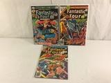 Lot of 3 Pcs Collector Vintage Marvel Comics Fantastic Four Comic Books No.11.12.14.