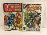 Lot of 2 Pcs Collector Vintage Marvel Comics Fantastic Four Comic Books No.19.21.