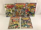 Lot of 5 Pcs Collector Vintage Marvel Luke Cage Power Man Comic Books No.1.22.23.26.27.