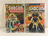 Lot of 2 Pcs Collector Vintage Marvel Shogun Warriors Comic Books No.1.4.