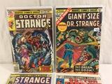 Lot of 4 Pcs Collector Vintage Marvel Comics Doctor Strange Comic Books No.1.33.34.188.
