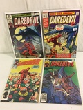 Lot of 4 Pcs Collector Vintage Marvel Cmics Daredevil Comic Books No.2.158.159.209.