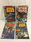 Lot of 4 Pcs Collector Vintage Marvel Star Wars Comic Books NO.3.19.21.85.