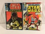 Lot of 2 Pcs Collector Vintage Marvel Star Wars Comic Books No.1.3.