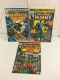 Lot of 3 Pcs Collector Vintage Marvel  Supernatural Thrillers The Invinsible Man No.2.5.6.
