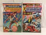 Lot of 2 Pcs Collector Vintage Marvel Comics Marvel Adventure Fetaure Daredevil No.2.3.