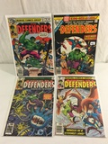 Lot of 4 Pcs Collector Vintage Marvel Comic Books The Defenders Comic Books No.1.70.71.72.