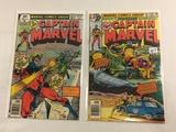Lot of 2 Pcs Collector Vintage Marvel Comic Captain Marvel Comic Books No.60.62.