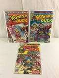 Lot of 3 Pcs Collector Vintage  Marvel Howard The Duck Comic Books No.1.29.31.