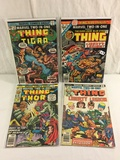 Lot of 4 Pcs Collector Vintage Marvel Two-In-One The Thing Comic Books No.1.19.20.23.