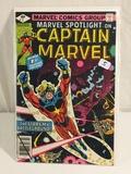 Collector Vintage Marvel Spotlight On Captain Marvel Comic Book No.1