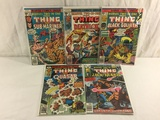 Lot of 5 Pcs Collector Vintage Marvel Two-In-One The Thing Comic Books No.24.27.28.48.53.