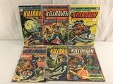 Lot of 6 Pcs Collector Vintage Marvel Amazing Adventures Fetaure KILLRAVEN No.29.30.31.32.33.34.