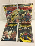 Lot of 4 Pcs Collector Vintage Marvel The Amazing Spider-man Comic Books No.13.193.194.255.