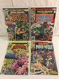 Lot of 4 Pcs Collector Vintage Marvel Premier Feature The Liberty Legion Comic Books No.30.31.46.48.