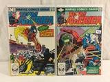 Lot of 2 Pcs Collector Vintage Marvel Comics Team America No.2.11. Comic Books