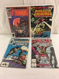 Lot of 4 Pcs Collector Vintage Assorted Marvel Comic Books No.1.2.3.6.