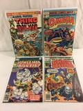 Lot of 4 Pcs Collector Vintage Assorted Marvl Comic Books No.10.12.28.57. Comic Books