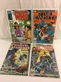 Lot of 4 Pcs Collector Vintage Assorted Marvel Comic Books No.1.5.7.12. Comic Books