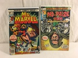 Lot of 2 Pcs Collector Vintage Ms. Marvel and No Prize Book Comic Books No.1.10.
