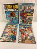 Lot of 4 Pcs Collector Vintage  Marvel Comics The Invincible Iron Man Comic Books No.5.6.7.10.
