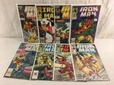 Lot of 8 Pcs Collector Vintage Marvel Iron Man Comic Books No.213.215.216.217.218.236.237.239.