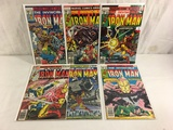 Lot of 6 Pcs Collector Vtg Marvel The Invincible Iron Man Comic Books No.112.113.114.115.116.117.