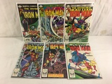 Lot of 6 Pcs Collector Vtg Marvel The Invinicble Iron Man Comic Books No.160.161.162.163.164.165.