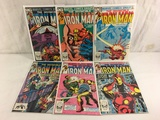 Lot of 6 Pcs Collector Vtg Marvel The Invinicble Iron Man Comic Books No.166.167.169.170.171.172.
