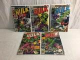 Lot of 5 Pcs Collector Vtg Marvel Comics The Incredible Hulk Comic Books No.218.220.221.222.223.
